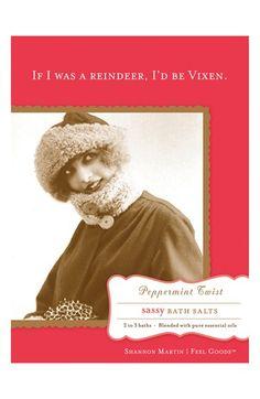 Shannon Martin Girl Designer 'Sassy' Peppermint Twist Bath Salts available at #Nordstrom