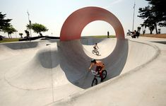 Skatepark - phytolab Architecture Plan, Landscape Architecture, Landscape Design, Saint Nazaire, Affordable Housing, My Ride, Skateboards, Les Oeuvres, Playground