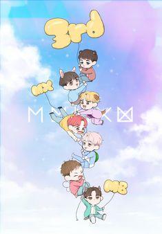 K Pop, Monsta X Shownu, Jooheon, Hyungwon, Kihyun, Kpop Backgrounds, Im Changkyun, Kids Wallpaper, Kpop Fanart