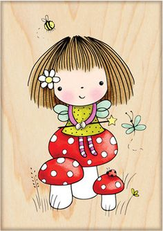 Magical Mimi - Rubber Stamp