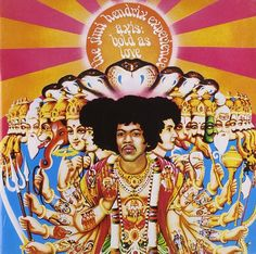 Album of the Day: Axis: Bold as Love (1967) by: The Jimi Hendrix Experience. Label: Reprise, Polydor, MCA #jimihendrix #thejimihendrixexperience #axis #boldaslove #1967 #psychedelic #classic #rock #albumoftheday #madgrand #music #vinyl #record #album #cover #nowplaying #nowspinning