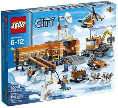 The LEGO City Arctic Base Camp Set is the perfect gift for the LEGO fan in your life and is on sale for $74.88! Details are at Frugal Coupon Living.