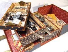 thegentlemancrafter.typepad.com  Awesome Storage Altered Art Box