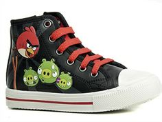 Angry Birds, Kengät, Hightops, koko 34. 14,95 €