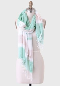 Lunch In The Park Striped Scarf at #Ruche @Ruche