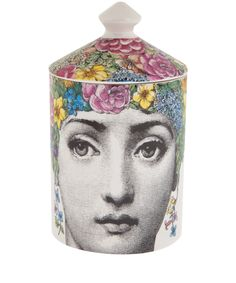 Flora Candle, Fornasetti. Shop more candles from the Fornasetti collection online at Liberty.co.uk