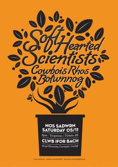 soft hearted scientists poster by carl rylatt