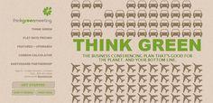 Think Green web design