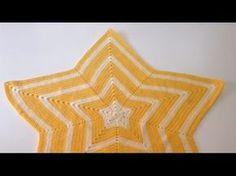 Tutorial Manta Estrella a Crochet Ganchillo Fácil - Hecho a Mano Tamara. www.scrapmurcia.com