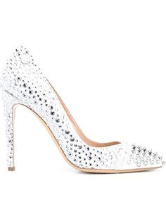 PHILIPP PLEIN 'Great White' Pumps. #philippplein #shoes #pumps