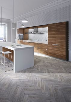 With its linear symmetries and refined style, Time is what a luxury modern kitchen should be: a statement piece with a quiet presence. An ideal design for those who want their kitchen to be a simple and serene space where they can carry out many daily activities.