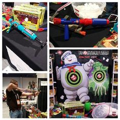 Loving all the Marshmallow Shooters in the pic especially the new Ghostbuster series!!