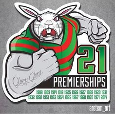 Rabbits In Australia, Logo Sketches, Rugby League, Great Team, Sydney, Champion, Sports Logos, Running, Cars