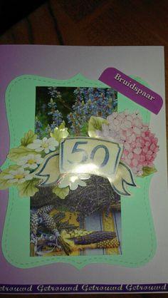 50jarig huwelijkskaart...