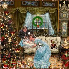 Merry 1st Christmas for Baby Girl /Joyful226