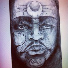 Photo by bennyfray Portrait, Tattoos, Image, Art, Art Background, Tatuajes, Headshot Photography, Tattoo, Kunst