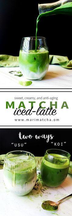 Almond Matcha Green Tea Iced-Latte (Two Amazing Ways!) – MariMatcha Tea Company | Pure Organic Ceremonial Grade Matcha
