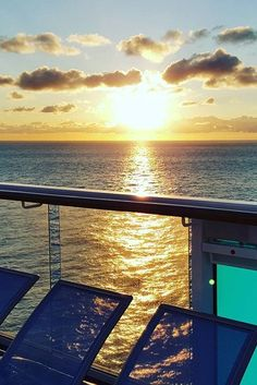 Up with the sun. It's never too soon to start working on your tan, grab a deck chair first thing in the morning on Anthem of the Seas.