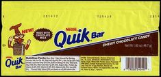 39 Discontinued Snacks You'll Never Enjoy Again Never heard of a Nestle Quik bar, but I bet they were good!