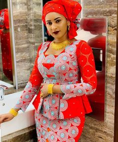 latest ankara skirt and blouse styles for ladies: Fabulous ankara skirt and blouse you should rock for parties Latest African Fashion Dresses, African Dresses For Women, African Print Dresses, African Print Fashion, African Attire, Ankara Fashion, African Men, Africa Fashion, African Prints