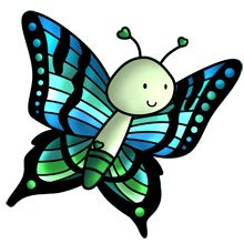 Butterfly - Lots of clip art on this site