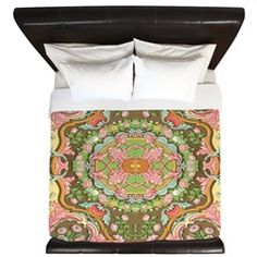 Ancient Decorative Design King Duvet