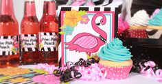 Flamingo Bling Party Supplies