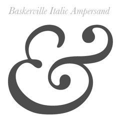 Baskerville Ampersand