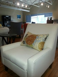 Oslo is a perfect chair. Oslo, Custom Furniture, Van Gogh, Showroom, Vancouver, Upholstery, Chairs, Couch, Living Room