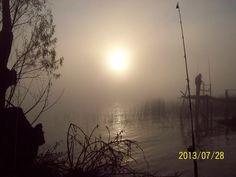 Rafael Sarli: Que hermoso amanecer en la isla talavera.