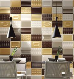 Tiling, tiled finished, artistic atmosphere and fashion style. Blossom Age Series 1