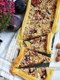 Tarta z figami i orzechami #tarta #figi #ciasto #cake #najsmaczniejsze #desert