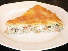 Authentic Greek Recipes: Greek Eggplant Pie (Melitzanopita)