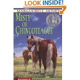 Love this book from my first grade school teacher!  Misty of Chincoteague, Marguerite Henry   ctc