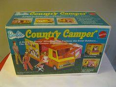 1972 Vintage Barbie Country camper Set Complete w Box Very Nice | eBay