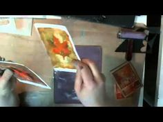 Karen Ellis from The Art House Studio shows you how she creates a folded Art Journal out of a Gelli Printed 24x26 sheet of Tissiano Paper - originally broadcasted live on USREAM - Captured Live on Ustream at http://www.ustream.tv/channel/the-art-house-studio