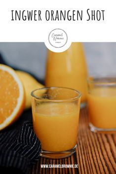 Ingwer Shot mit Orange und Kurkuma Give your immune system a booster with this ginger shot! Heart Healthy Recipes, Healthy Crockpot Recipes, Healthy Breakfast Recipes, Healthy Snacks, Smoothie Bowl, Smoothie Recipes, Smoothies, Turmeric Smoothie, Turmeric Tea