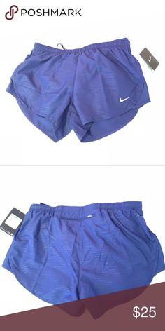 6697a3fd33 Nike Women s Running Shorts Navy blue Nike women s running shorts. Size  women s medium. Never