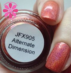JOSS FX Affinite Holographic Nail Lacquer Swatches and Review