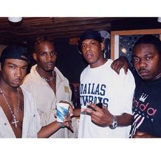 Ja Rule, Jay Z and DMX once planned to form a supergroup called Murder Inc., and there may still be some unreleased tracks from the project in the bank. Ja R. 90s Hip Hop, Hip Hop And R&b, Hip Hop Rap, Young Jay Z, Hip Hop Images, New School Hip Hop, Ja Rule, Hip Hop Classics, Love And Hip