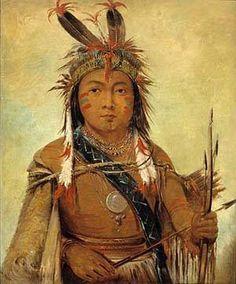 Ud je jock Pelican a Boy 1831 Painting by George Catlin paintings kp