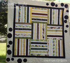 Organic Style-by Kari Ramsay It is my pleasure to bring you this simple, yet elegant pattern. This pattern makes a 69″ square lap sized quilt.  I chose to back this quilt in Moda's Snuggle Solids, because it makes every quilt so cuddly and warm on a chilly day.