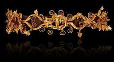 Golden Greek diadem 400 BC