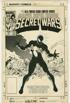 The Marvel Comics of the 1980s — ryallsfiles:   Secret Wars covers by Mike Zeck and...