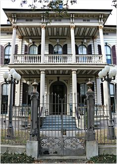 St. Charles Ave Home, Victorian Feel