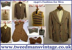 1940 Clothing Styles For Man | Mens Vintage Clothing Blog - Vintage Menswear: 1940s Mens Clothing