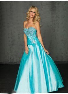 loving the idea of a torquoise dress