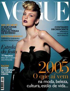 Vogue Portugal #27: Janeiro de 2005