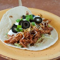 Slow Cooker Mexican Pulled Pork from Real Mom Kitchen via Slow Cooker from Scratch #SlowCooker #CrockPot