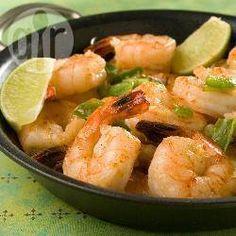 Spicy Garlic and Chilli Prawns @ allrecipes.co.uk, use roasted sesame oil, fresh ginger, garlic and add  veggies